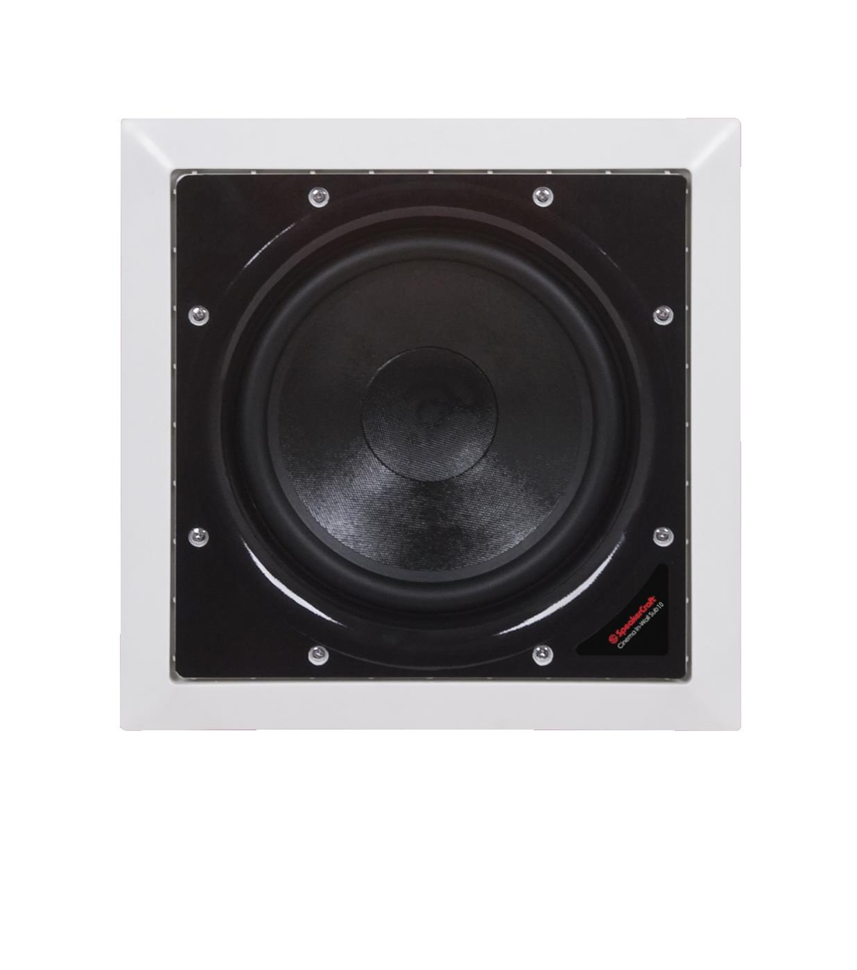 "6167101 Core Brands  Speakercraft PROFILE CINEMA SUB 10 Kvadratisk subwoofer 10"" PROFILE"